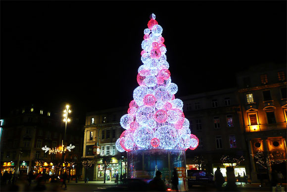 Tree of Lights, Dublin