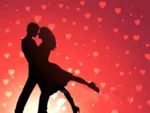 Valentine silouette
