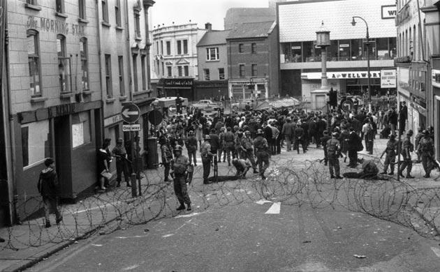 Brits in Belfast